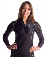 fourth element THERMOCLINE  Zipped Long Sleeve - Ladies